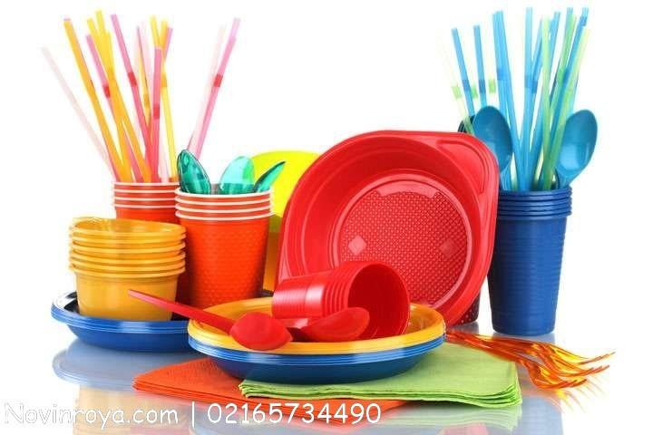 تولید ظروف یکبار مصرف پلاستیکی