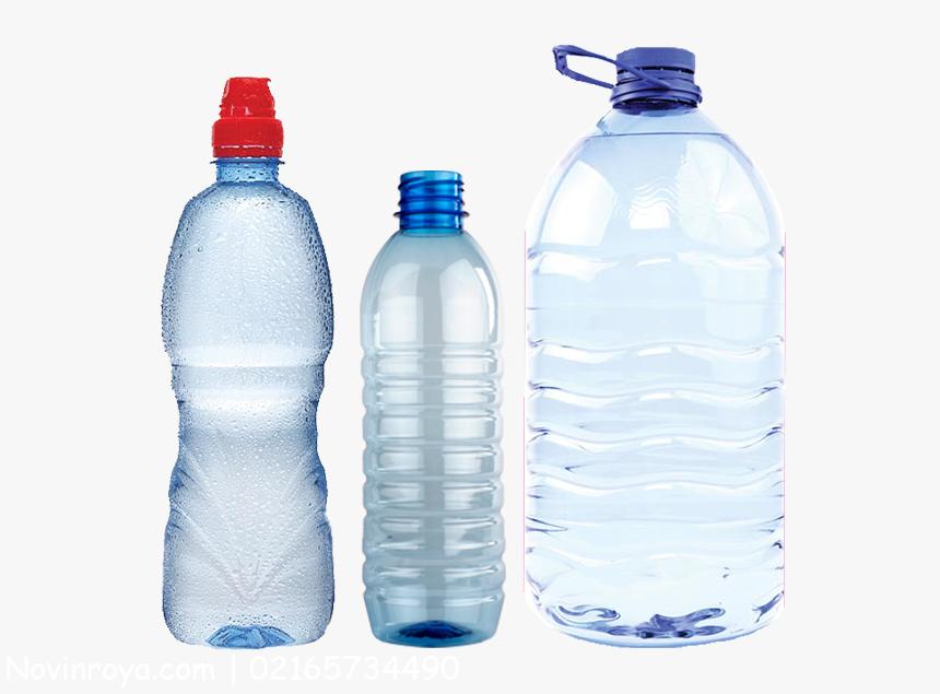 بطری های پلاستیکی یکبار مصرف آب